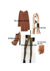 Petit look casual pour cet automne crée par Céline, votre conseillère en image sur Montauban, proche de Toulouse